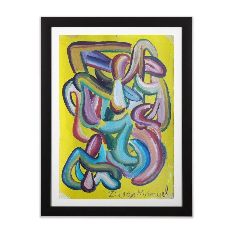 Formas en el espacio 1 Home Framed Fine Art Print by diegomanuel's Artist Shop