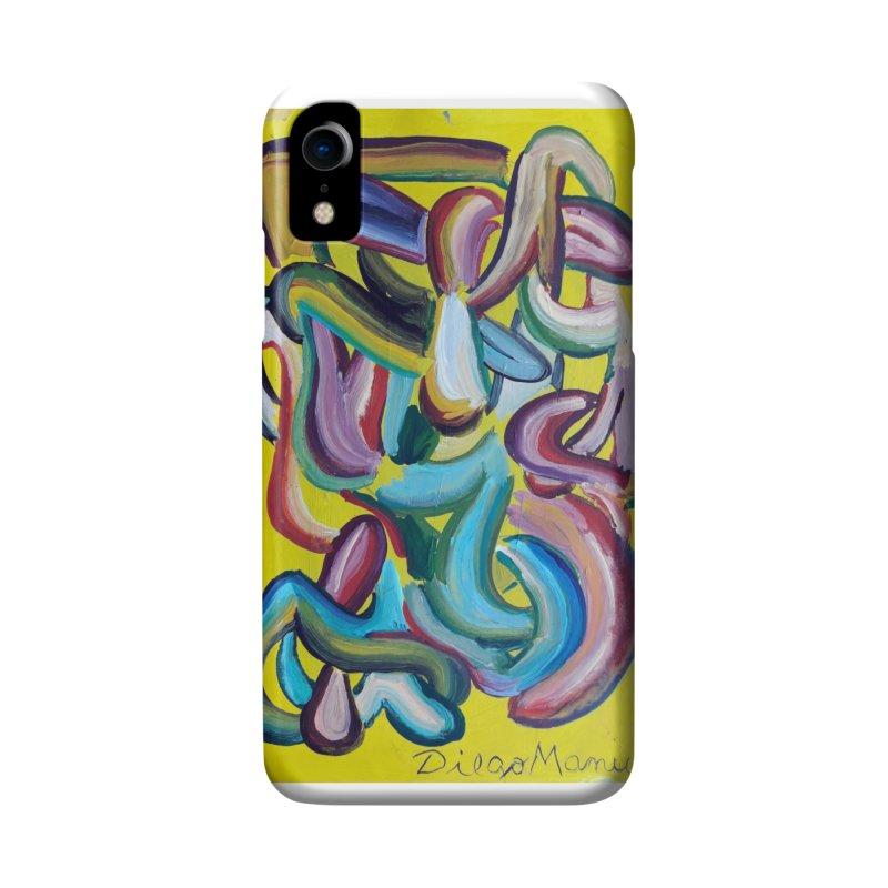 Formas en el espacio 1 Accessories Phone Case by Diego Manuel Rodriguez Artist Shop