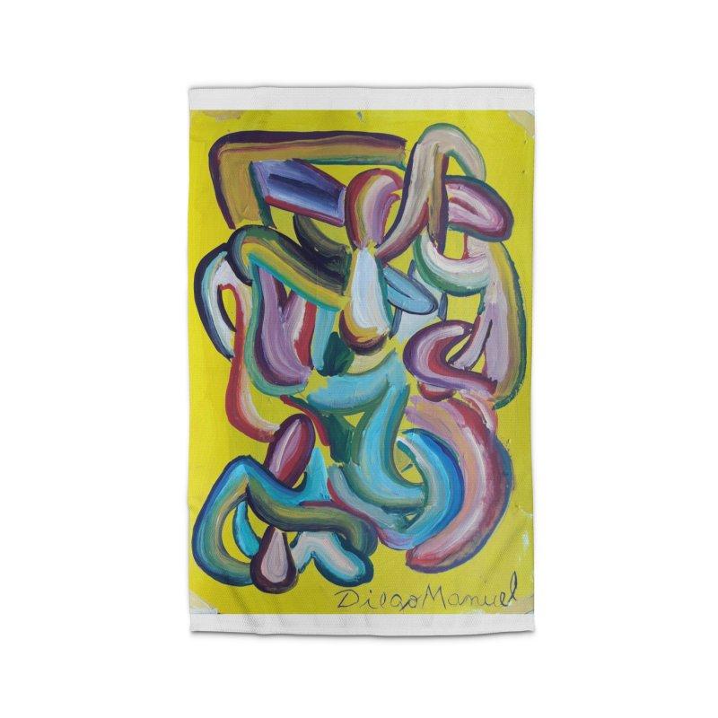 Formas en el espacio 1 Home Rug by diegomanuel's Artist Shop