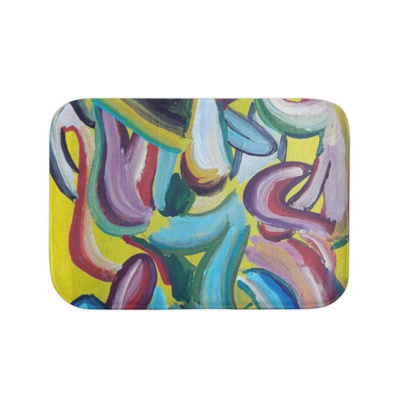 Formas en el espacio 1 Home Bath Mat by diegomanuel's Artist Shop