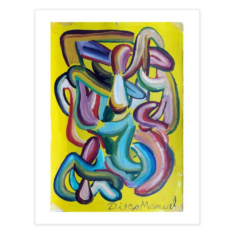 Formas en el espacio 1 Home Fine Art Print by Diego Manuel Rodriguez Artist Shop