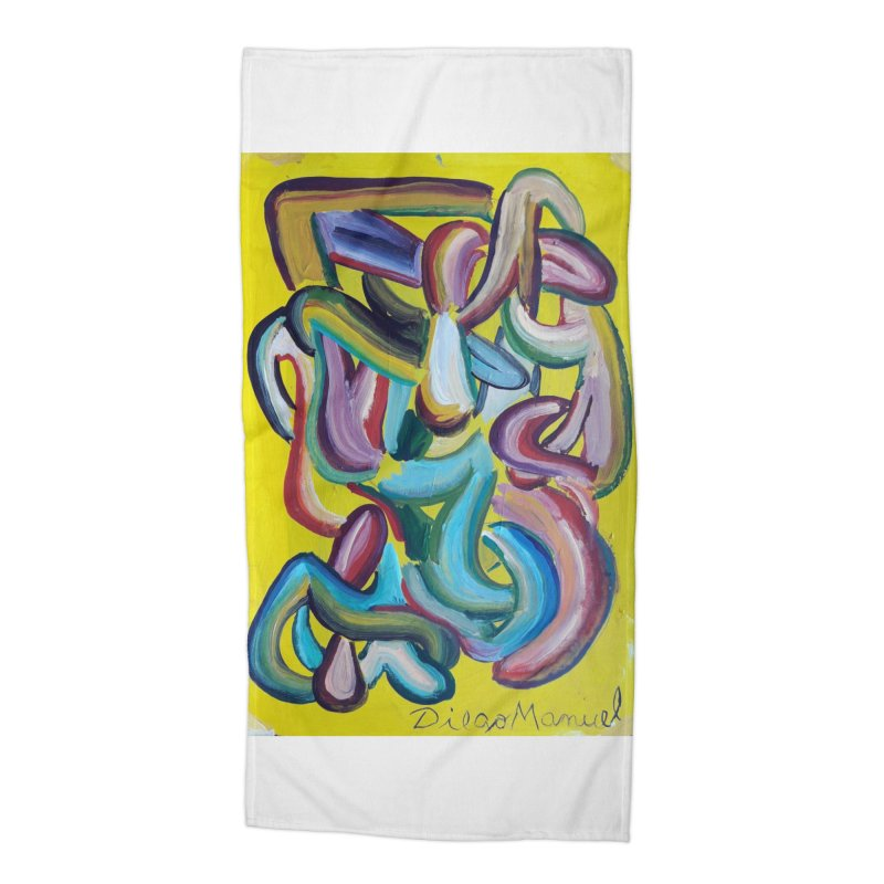 Formas en el espacio 1 Accessories Beach Towel by diegomanuel's Artist Shop