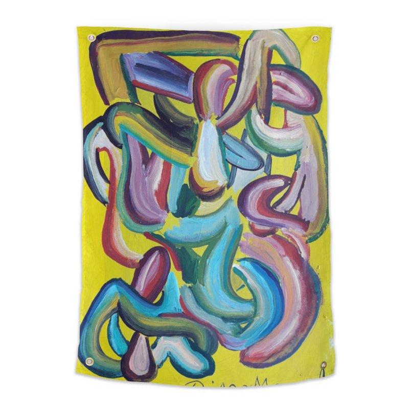 Formas en el espacio 1 Home Tapestry by Diego Manuel Rodriguez Artist Shop