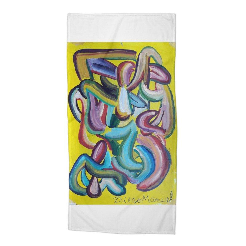 Formas en el espacio 1 Accessories Beach Towel by Diego Manuel Rodriguez Artist Shop