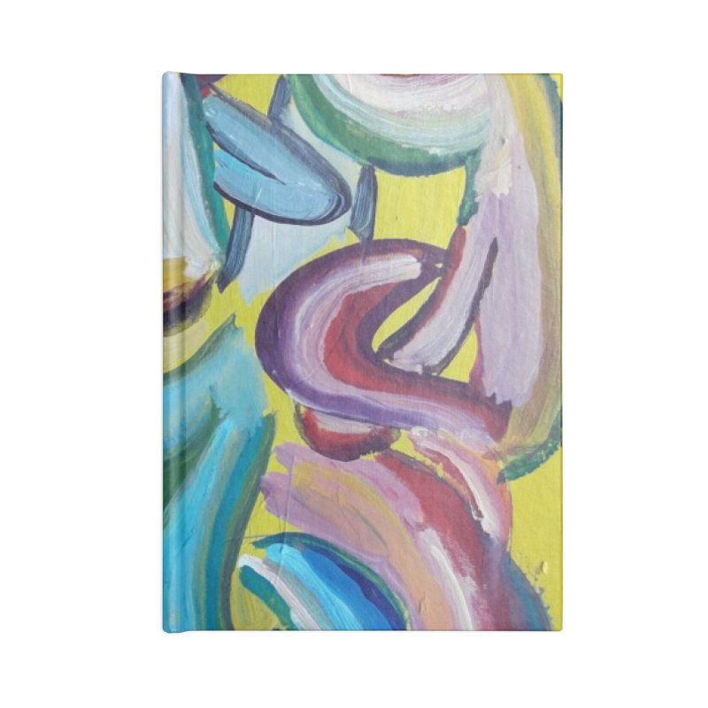 Formas en el espacio 1 Accessories Lined Journal Notebook by diegomanuel's Artist Shop