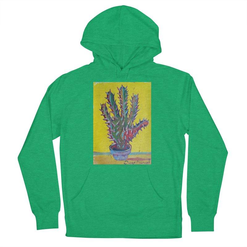 Mano cactus 2 Men's Pullover Hoody by diegomanuel's Artist Shop