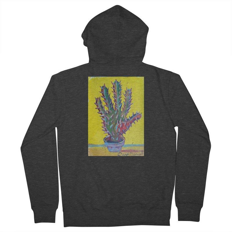 Mano cactus 2 Women's Zip-Up Hoody by diegomanuel's Artist Shop