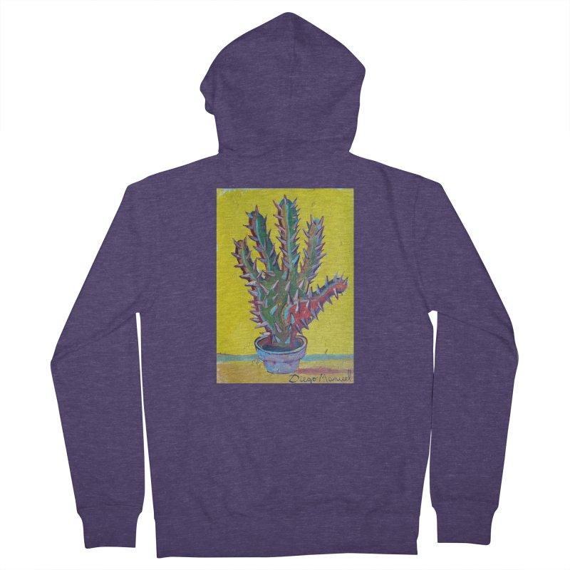 Mano cactus 2 Men's Zip-Up Hoody by diegomanuel's Artist Shop