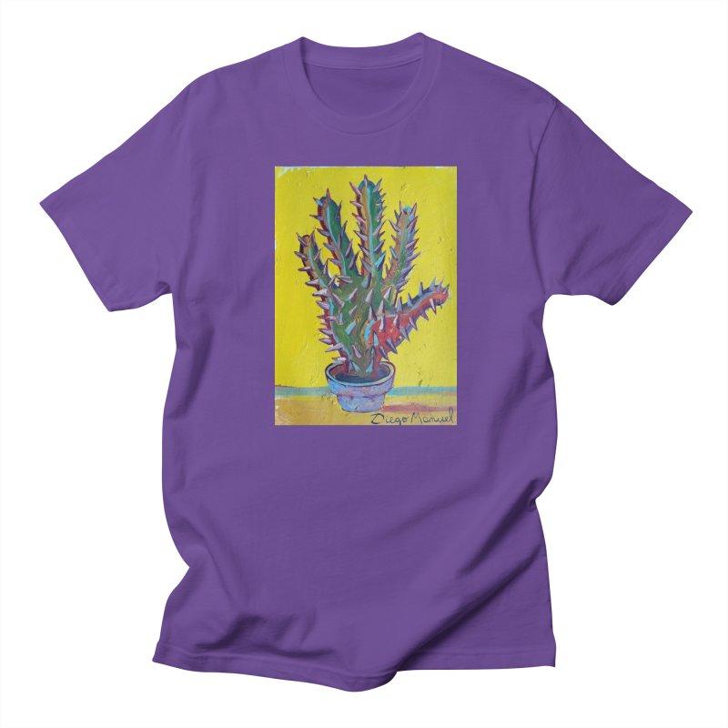 Mano cactus 2 Men's T-shirt by diegomanuel's Artist Shop