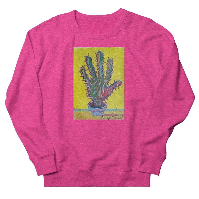 Mano cactus 2 Women's Sweatshirt by diegomanuel's Artist Shop