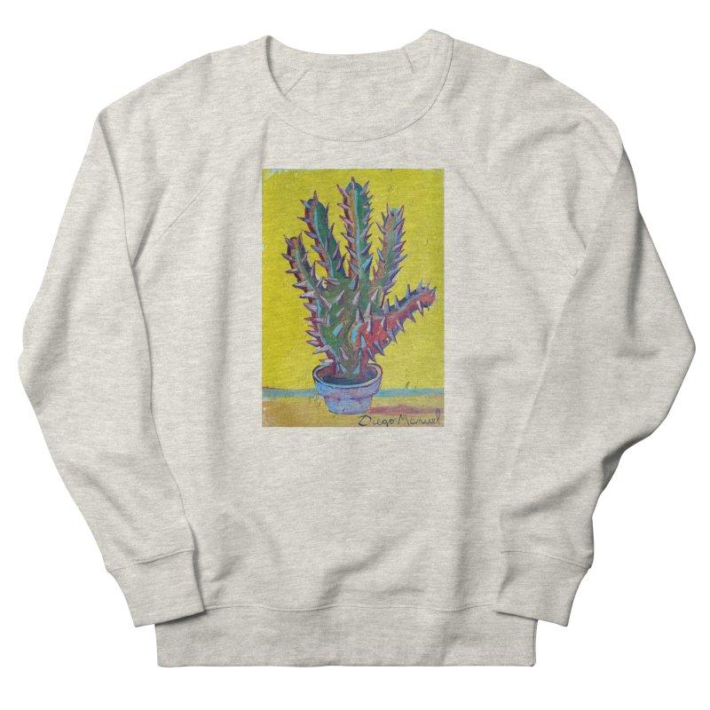 Mano cactus 2 Men's Sweatshirt by diegomanuel's Artist Shop