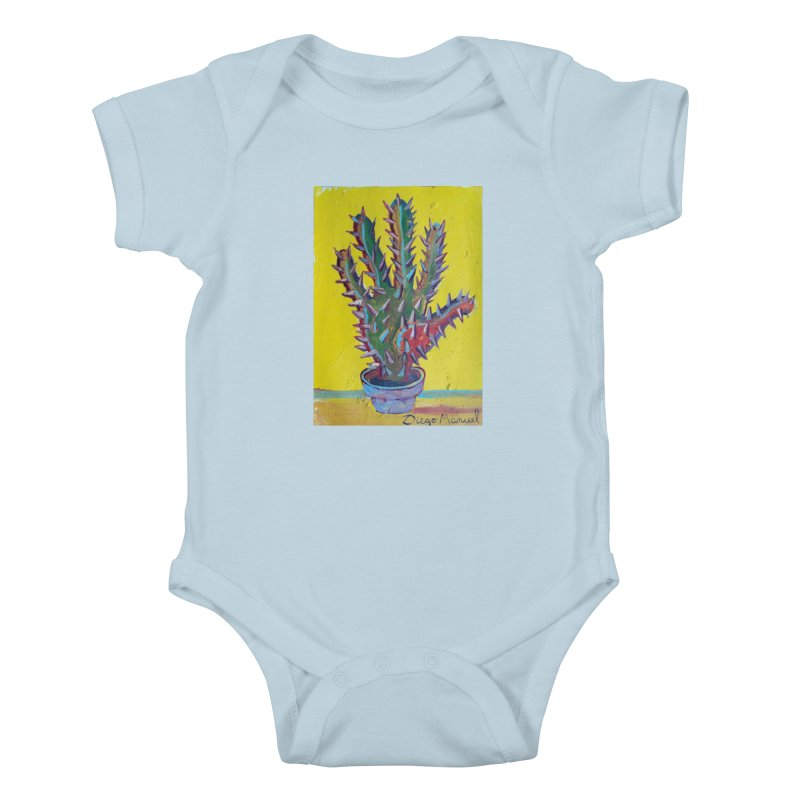 Mano cactus 2 Kids Baby Bodysuit by diegomanuel's Artist Shop
