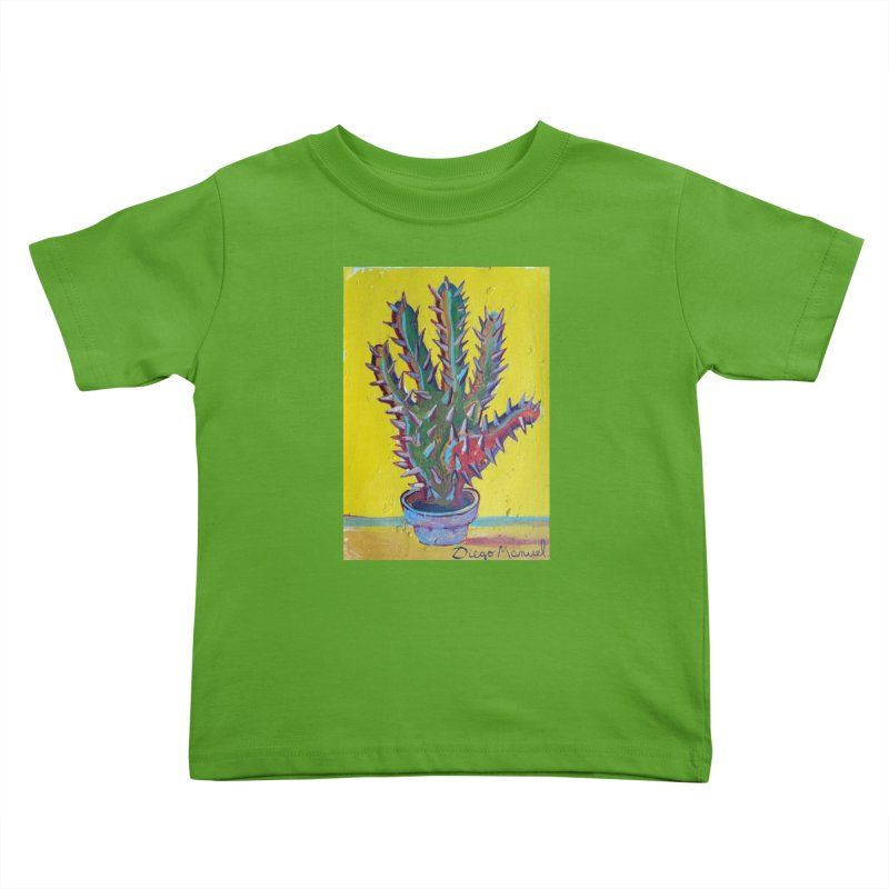 Mano cactus 2 Kids Toddler T-Shirt by Diego Manuel Rodriguez Artist Shop