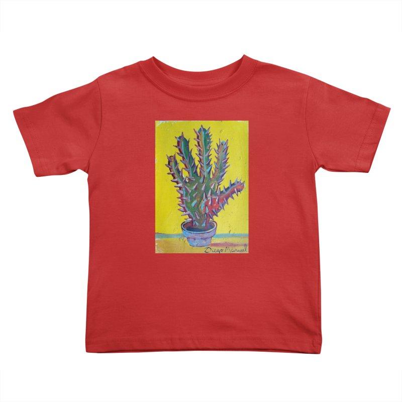 Mano cactus 2 Kids Toddler T-Shirt by diegomanuel's Artist Shop