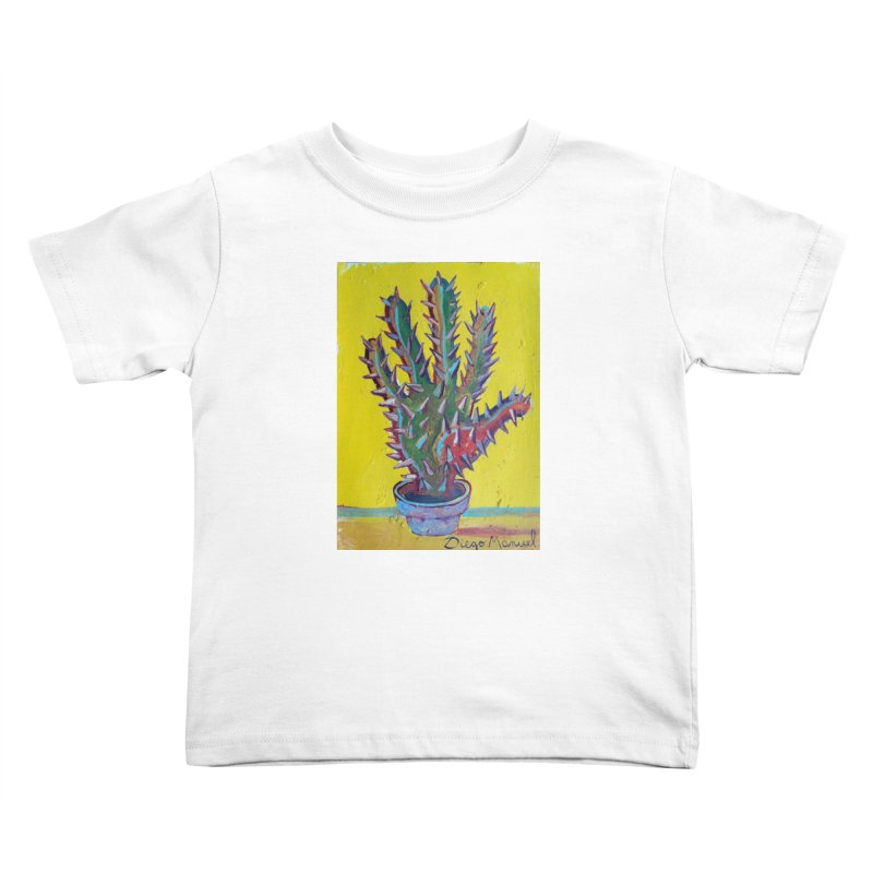 Mano cactus 2 Kids Toddler T-Shirt by diegomanuel's Artist Shop