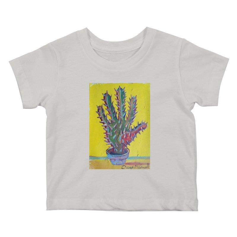 Mano cactus 2 Kids Baby T-Shirt by diegomanuel's Artist Shop