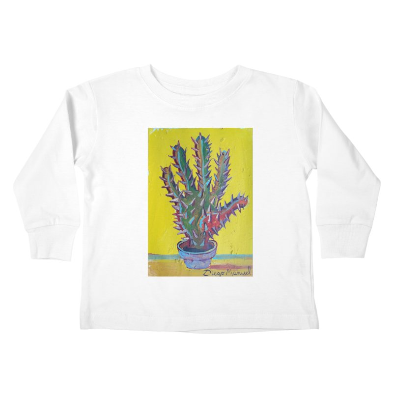 Mano cactus 2 Kids Toddler Longsleeve T-Shirt by diegomanuel's Artist Shop