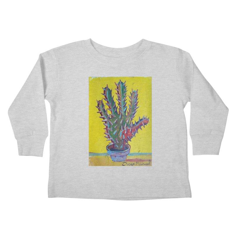 Mano cactus 2 Kids Toddler Longsleeve T-Shirt by diegomanuel's Artist Shop