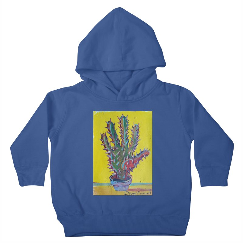 Mano cactus 2 Kids Toddler Pullover Hoody by diegomanuel's Artist Shop