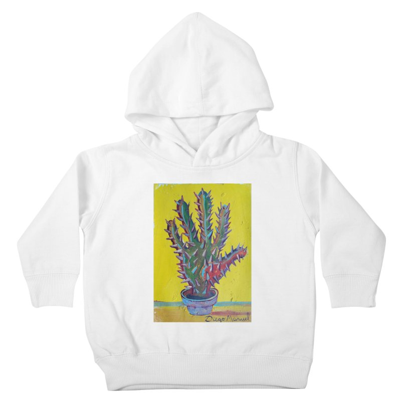Mano cactus 2 Kids Toddler Pullover Hoody by diegomanuel's Artist Shop