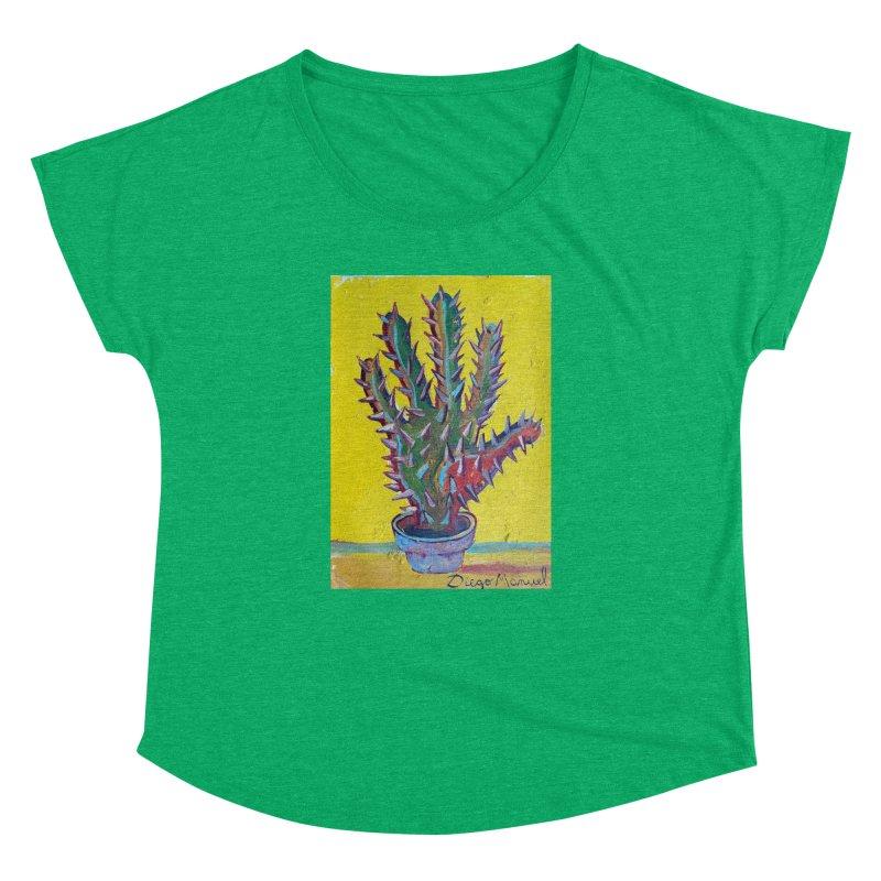 Mano cactus 2 Women's Dolman by diegomanuel's Artist Shop