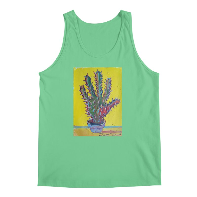 Mano cactus 2 Men's Regular Tank by diegomanuel's Artist Shop