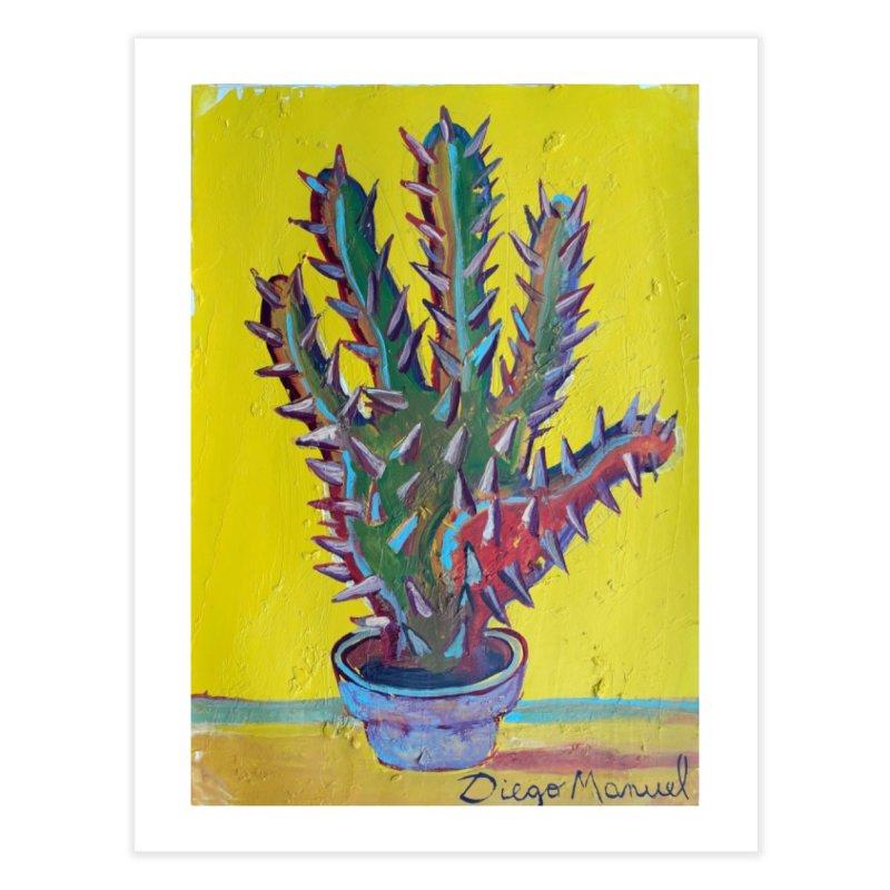 Mano cactus 2 Home Fine Art Print by diegomanuel's Artist Shop