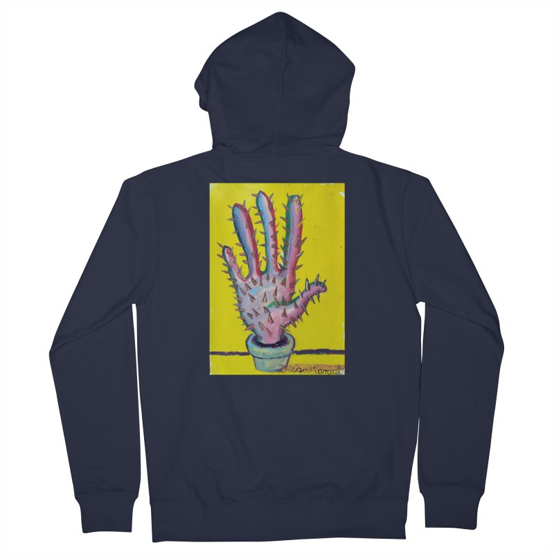 Mano cactus 3 Men's Zip-Up Hoody by diegomanuel's Artist Shop