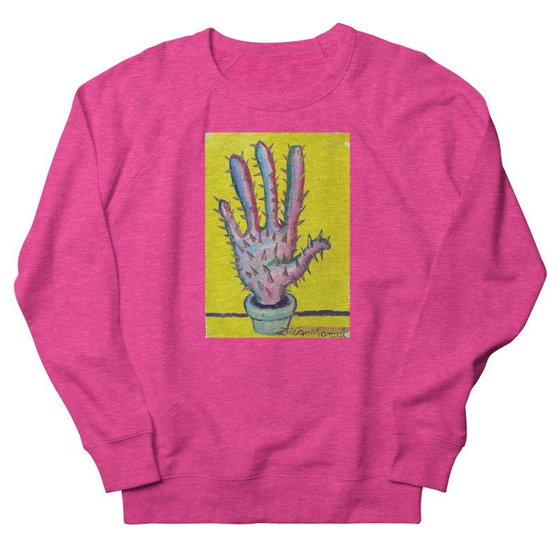 Mano cactus 3 Women's Sweatshirt by diegomanuel's Artist Shop