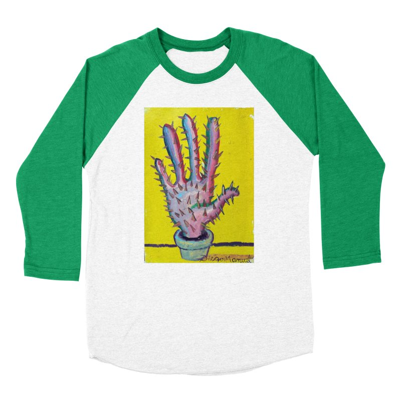 Mano cactus 3 Men's Baseball Triblend T-Shirt by diegomanuel's Artist Shop