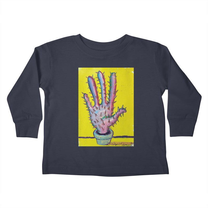 Mano cactus 3 Kids Toddler Longsleeve T-Shirt by diegomanuel's Artist Shop
