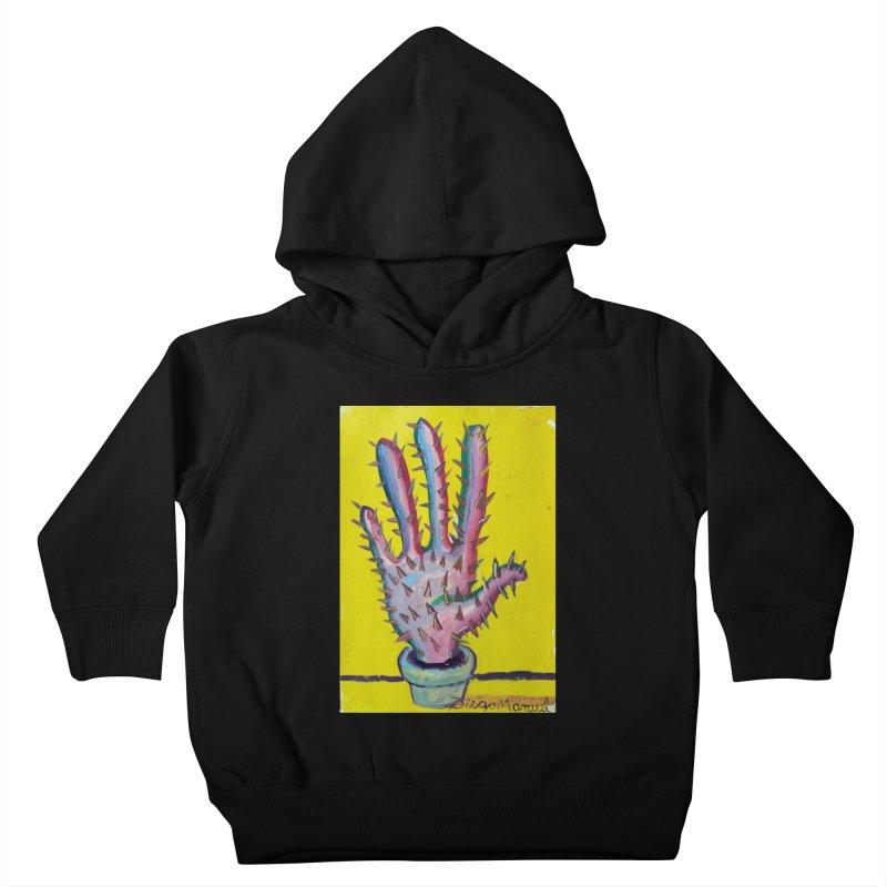 Mano cactus 3 Kids Toddler Pullover Hoody by diegomanuel's Artist Shop