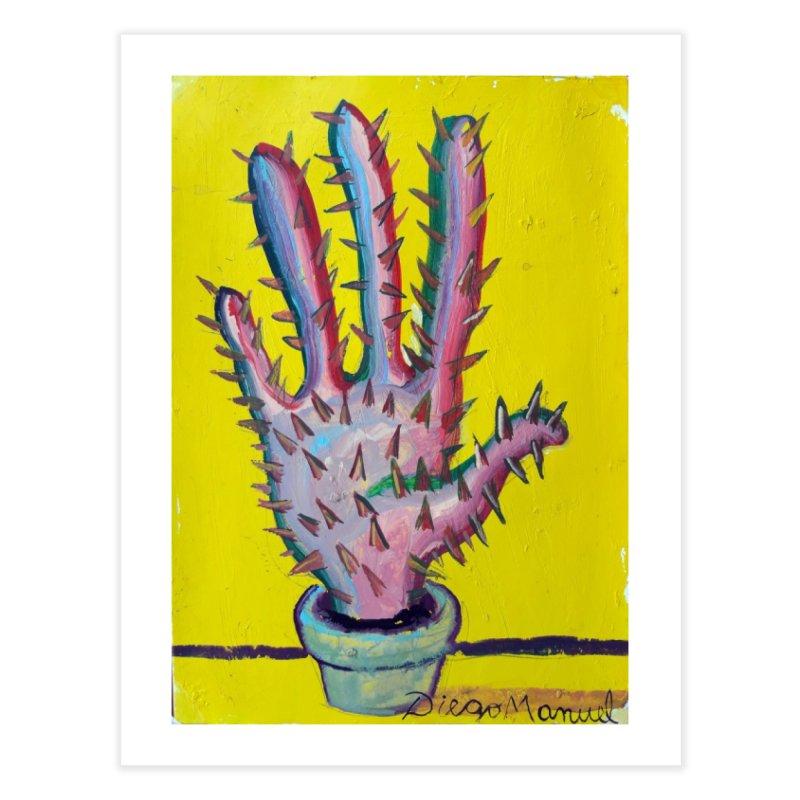 Mano cactus 3 Home Fine Art Print by diegomanuel's Artist Shop