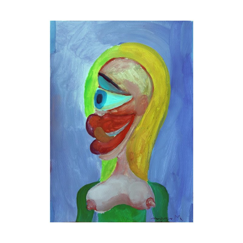 Rubia cubista 4 by diegomanuel's Artist Shop