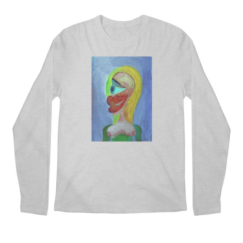 Rubia cubista 4 Men's Longsleeve T-Shirt by diegomanuel's Artist Shop