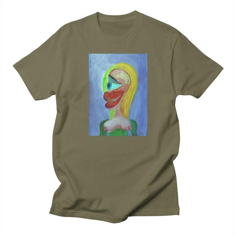 Rubia cubista 4 Women's Unisex T-Shirt by diegomanuel's Artist Shop