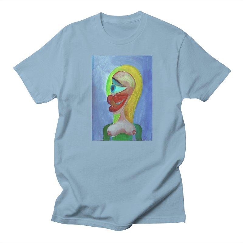 Rubia cubista 4 Men's T-shirt by diegomanuel's Artist Shop
