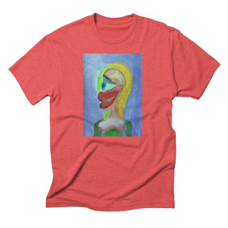 Rubia cubista 4 Men's Triblend T-shirt by diegomanuel's Artist Shop
