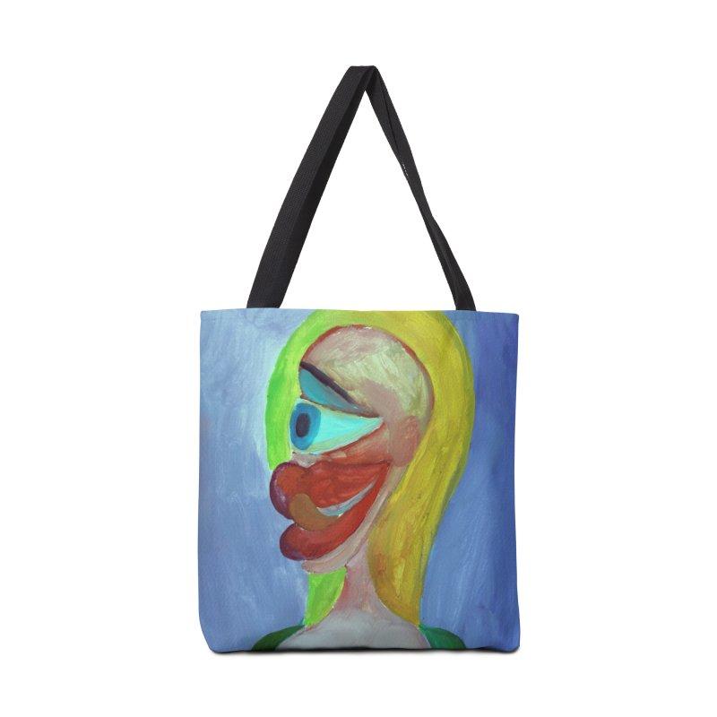 Rubia cubista 4 Accessories Bag by diegomanuel's Artist Shop