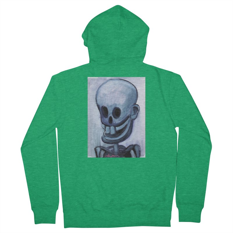 Calavera loca Men's Zip-Up Hoody by diegomanuel's Artist Shop
