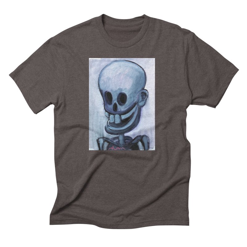 Calavera loca Men's Triblend T-shirt by diegomanuel's Artist Shop