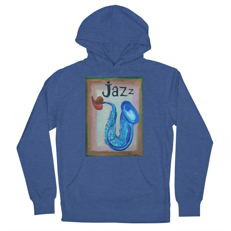 jazz 4 Women's Pullover Hoody by diegomanuel's Artist Shop