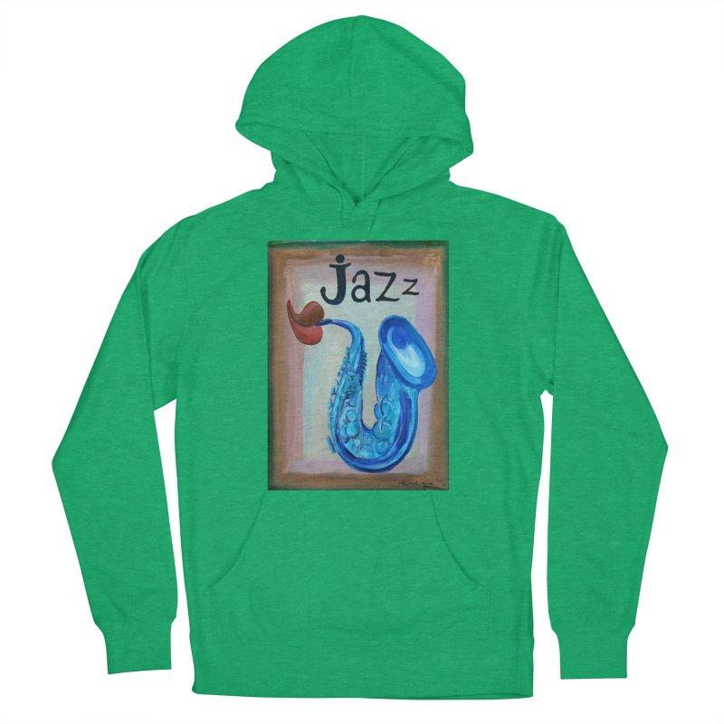 jazz 4 Men's Pullover Hoody by diegomanuel's Artist Shop