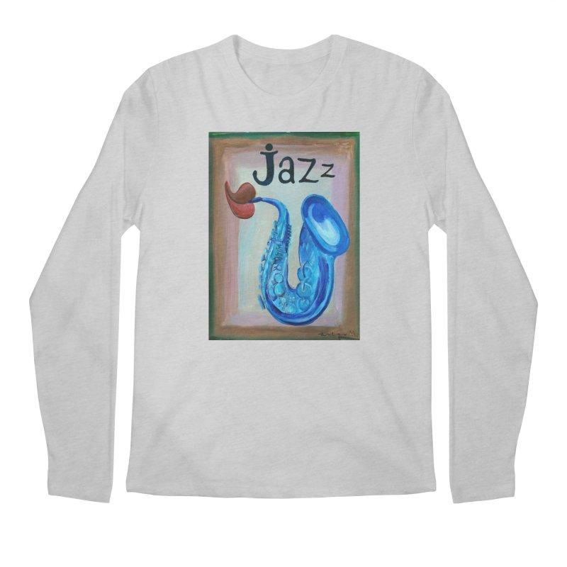 jazz 4 Men's Longsleeve T-Shirt by diegomanuel's Artist Shop