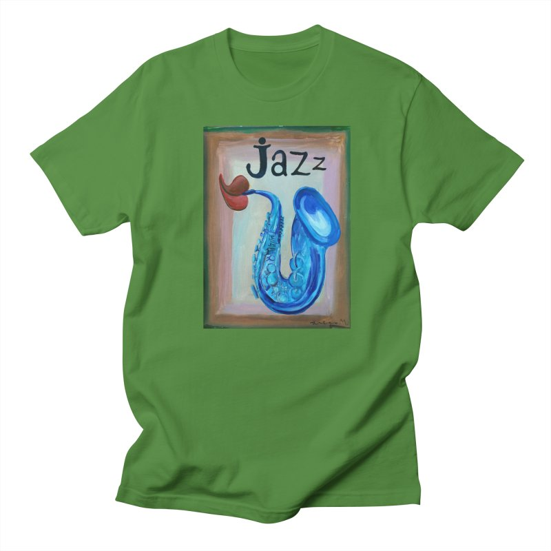 jazz 4 Men's T-shirt by diegomanuel's Artist Shop