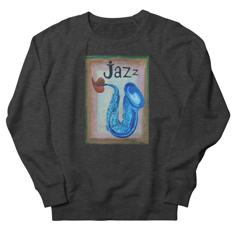jazz 4 Men's Sweatshirt by diegomanuel's Artist Shop