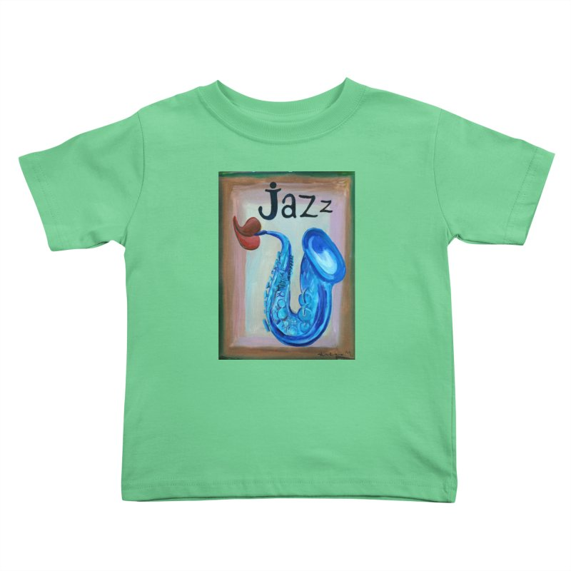 jazz 4 Kids Toddler T-Shirt by diegomanuel's Artist Shop