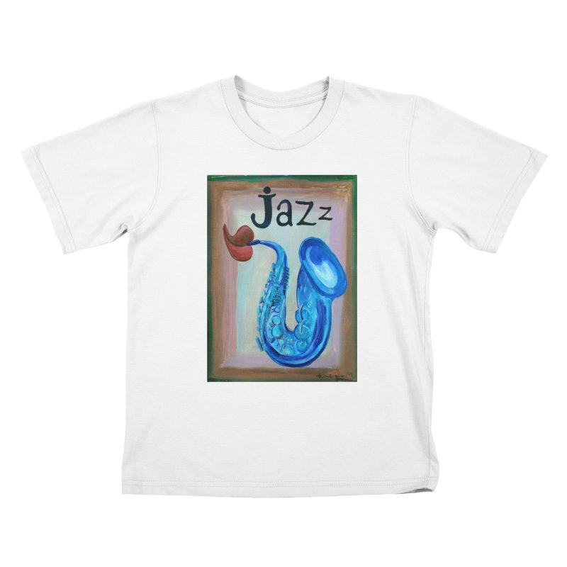 jazz 4 Kids T-shirt by diegomanuel's Artist Shop