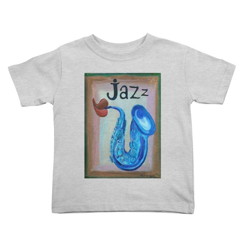 jazz 4 Kids Toddler T-Shirt by diegomanuel's Artist Shop