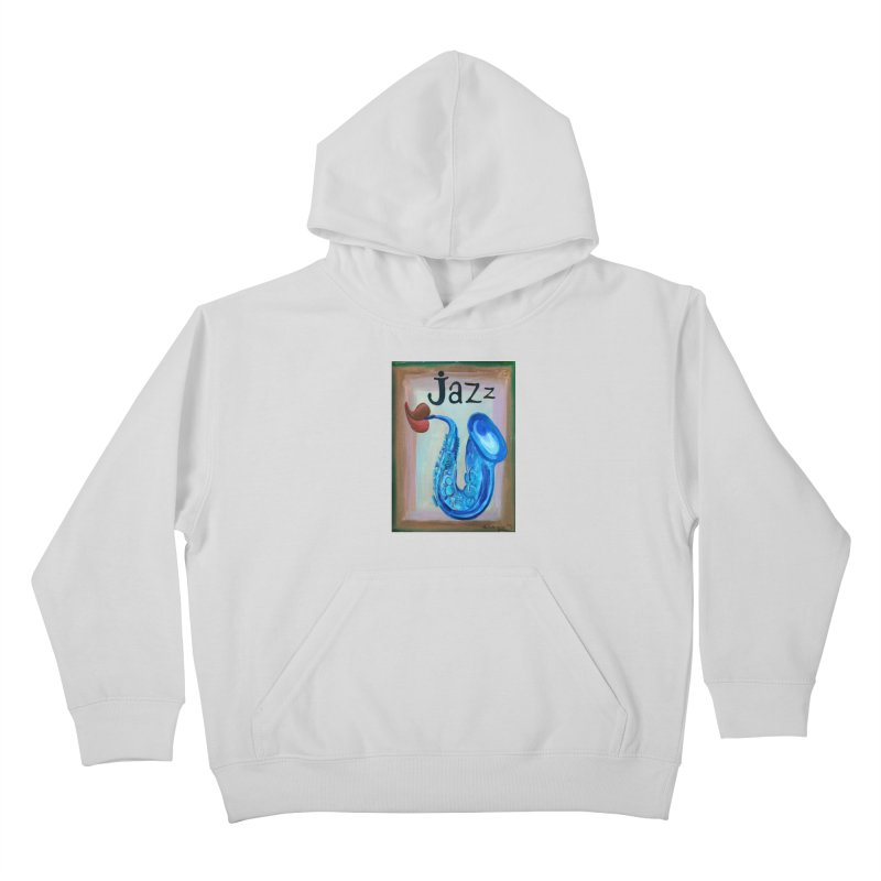 jazz 4 Kids Pullover Hoody by diegomanuel's Artist Shop